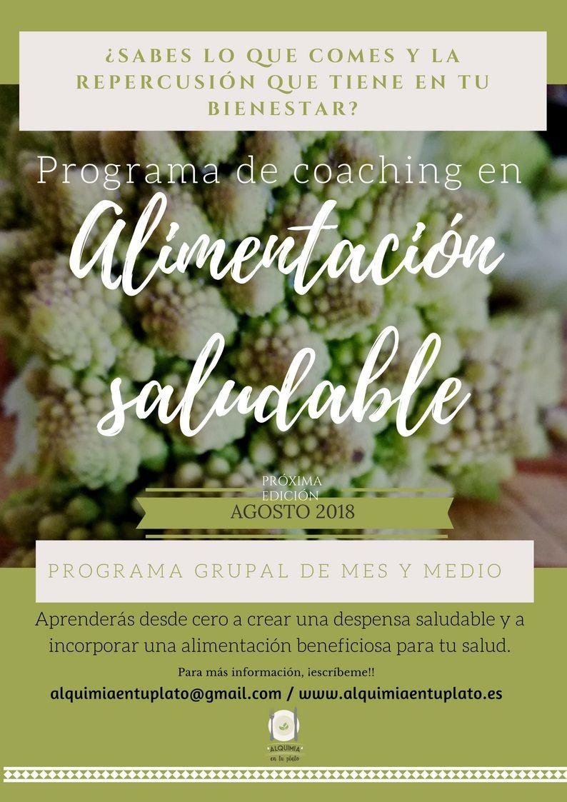Programa de Coaching en Alimentación Saludable